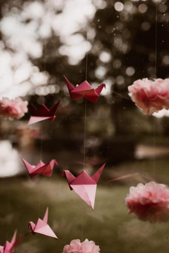 Origami wesele