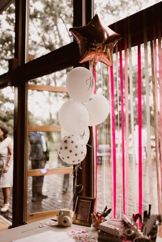 ozdobne balony na wesele