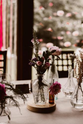 kwiaty na stół na wesele